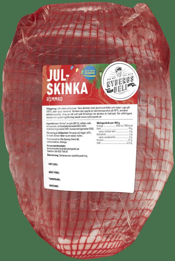 Julskinka_Rimmad