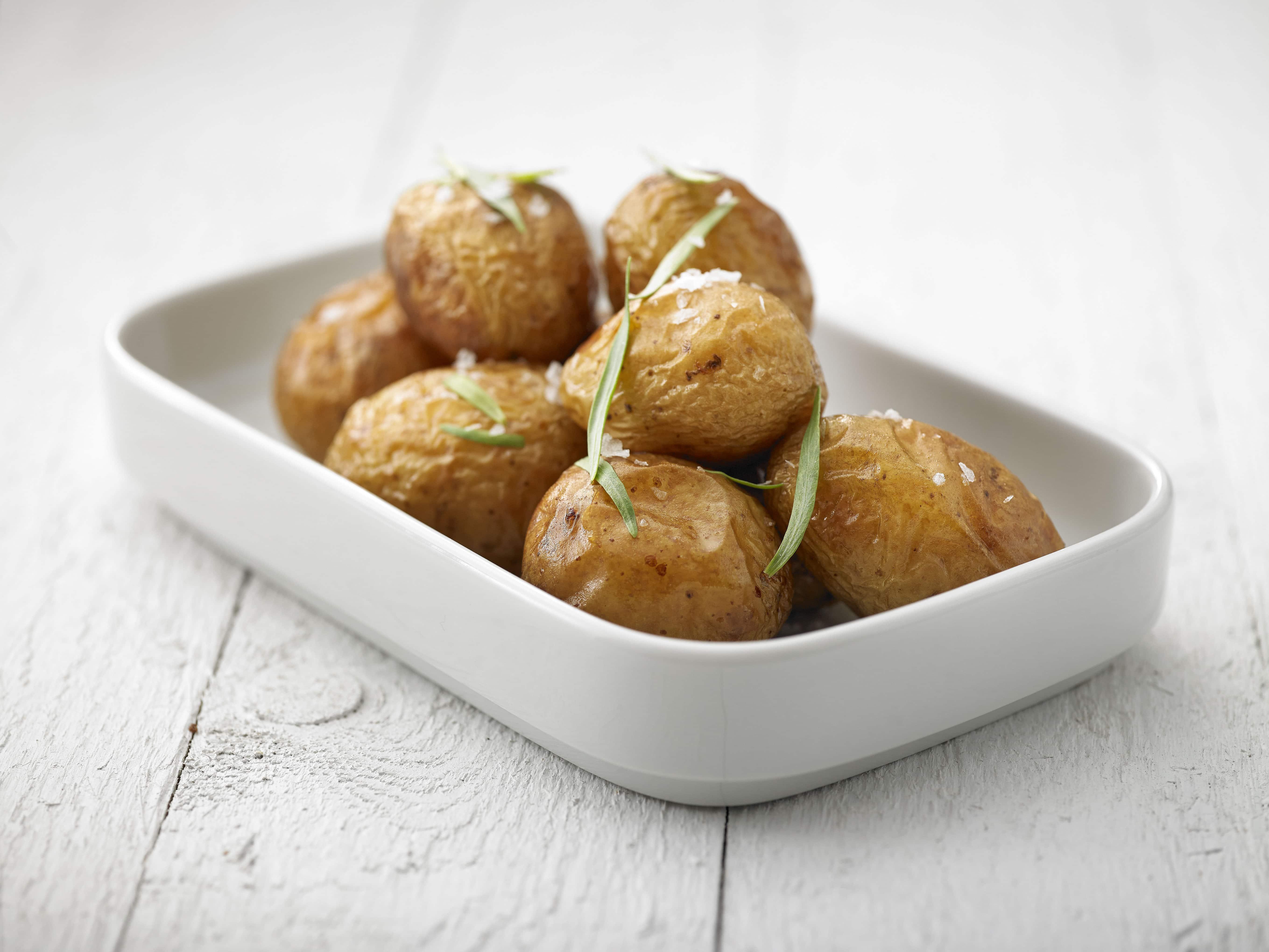 Saltrostad potatis