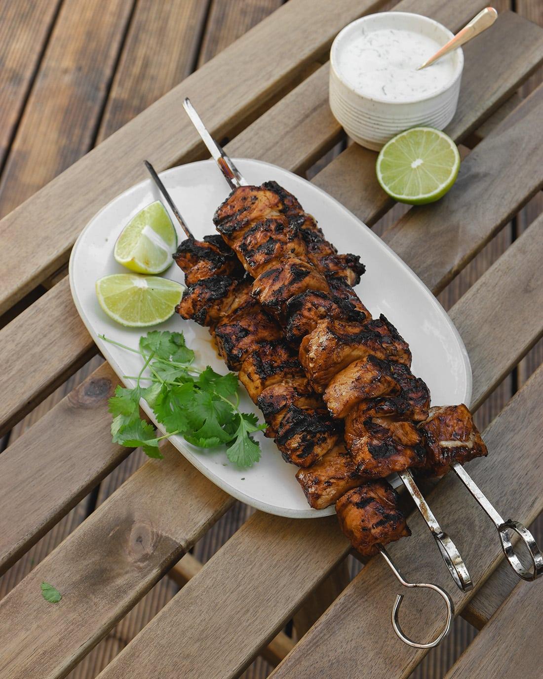 Asiatiska grillspett